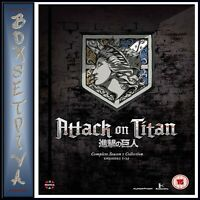 ATTACK ON TITAN - COMPLETE SEASON ONE COLLECTION  *BRAND NEW DVD***