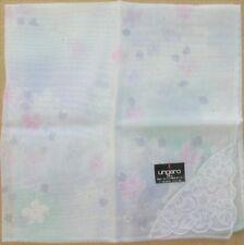 UNGARO *Petal Lace Handkerchief 43cm /HYUMAHS