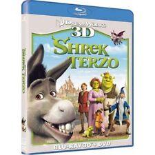 BLU RAY + DVD  Shrek terzo -    3 D -   (MUI)