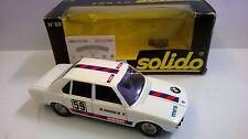SOLIDO 1:43 DIE CAST AUTO BMW 5.30 BIANCO ART 89