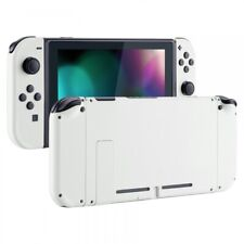 Soft Touch White Full Set HousingShell Buttons Replacement for Nintendo Switch