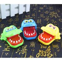 Krokodil Kroko Mund Zahnarzt Biss Finger Reaktionsspiel Kind Spielzeug Toys hi