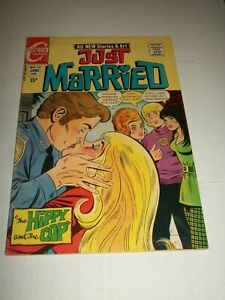 Charlton JUST MARRIED #77 (1970) Art Cappello & Joe Sinnott Cover