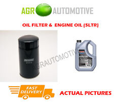 DIESEL OIL FILTER + SS 10W40 OIL FOR MITSUBISHI SPACE WAGON 1.8 75BHP 1991-98