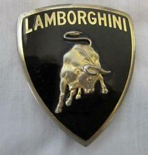 lamborghini bull emblem gold border hood authentic used item 400853745d