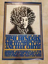 Jimi Hendrix John Van Hamersveld Shrine Pinnacle Concert 2/10/1968 Poster 36x24