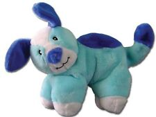 Hide 'n Squeak Soft Dog Toy, Blue Dog Plush Toy with Pouch for Removable Squeak