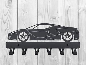 WALL KEY RACK LaFerrari F70/F150 Souvenir Car lover HOOK birthday