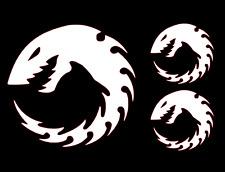 Warhammer 40k Genestealer Cults / Tyranid Vinyl Decals (Set of 3)