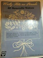 1960s WALTZ HITS ON PARADE vintage music song book