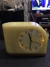Westclox Big Ben Moon Beam Yellow Alarm Clock