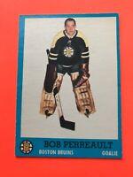 Bob Perreault 1962-63 Topps #2  Vintage Hockey Card Boston Bruins