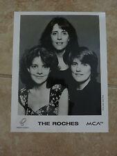 The Roches 1992 8x10 B&W Publicity Picture Promo Photo