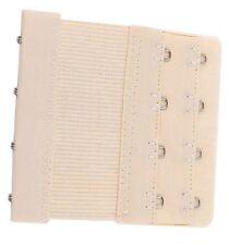 Accessoire lingerie 1 rallonge soutien gorge beige 4 crochets extensible  8/9 cm