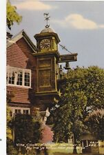 DORKING - ABINGER HAMMER CLOCK COLOUR  POSTCARD