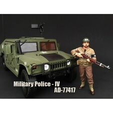 WWII MILITARY POLICE FIGURE IV FOR 1:18 SCALE MODELS BY AMERICAN DIORAMA 77417
