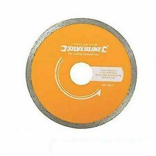 Tile Cutting Diamond Disc 180mm X 22mm Continuous Rim Blade 993035