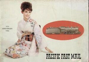 Catalogo PFM - PACIFIC FAST MAIL 10th Ed. 1965 10° ann.   E bb
