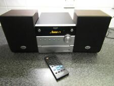 Bush DM95B CD Micro System With Bluetooth & Remote Radio, Working, Pat Tested