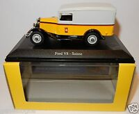 RARE ELIGOR FORD V8 SUISSE POSTES POSTE PTT 1/43 IN LUXE BOX