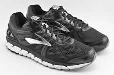 MENS BROOKS BEAST 16 RUNNING SHOES SIZE 12 RIGHT 12.5 LEFT FOOT BLACK GRAY WHITE