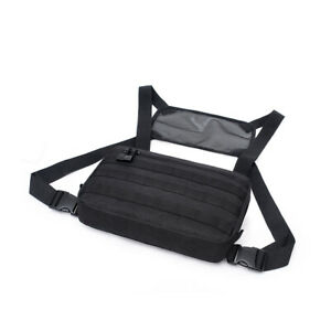 Tactical Molle Chest Rig Bag Recon Kit Bags Combat EDC Front Pouch for Wargame