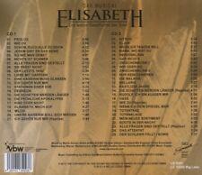 CASTALBUM LIVE - ELISABETH-DAS MUSICAL-LIVE  2 CD NEU