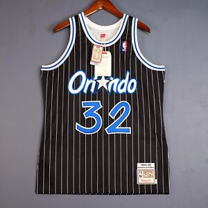 100% Authentic Shaquille O'Neal Mitchell Ness 95 96 Magic Jersey Size 40 M Mens