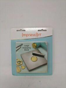 """ImpressArt - Large Stamping Block - 4"""""""