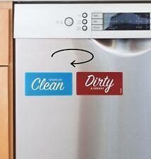 TRUFLIP Reversible Dishwasher Magnet Clean Dirty Indicator Flip Sign