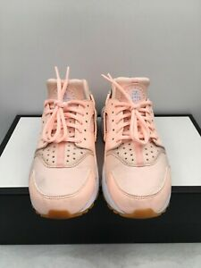 NIKE Air Huarache Sunset Tint Peach 634835-607 Running Shoes Women's Size 7 US