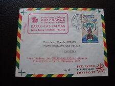 SENEGAL - enveloppe 6/12/1965 (B12)