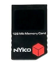 Nyko 128MB 35x Memory Card for Nintendo GameCube - Black