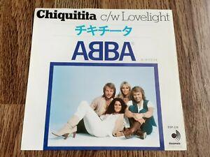 "ABBA - CHIQUITITA 7"" 1979 DISCOMATE JAPAN"