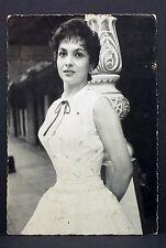 Gina Lollobrigida - Actor Movie Photo - Film Autogramm-Karte AK (Lot-G-8570
