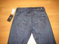 NWT Men's 7 For All Mankind Carsen Easy Straight Leg Jeans (Retail $198)