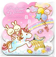 Q-lia Kindness Sky Flavor Sticker Sack Unicorn Flakes seals Kawaii Stationery