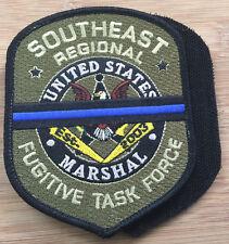 "US Marshals Service-SE Regional Fug TF ""mourning"" OD Genuine *Kokopelli Patch*"