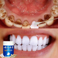 1Pc 50g Natural Pearl Tooth Brushing Powder Detoxifying Whitening Teeth WhiPDH