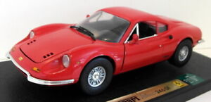 Anson 1/18 Scale diecast - 30301-W Ferrari Dino 246GT Red