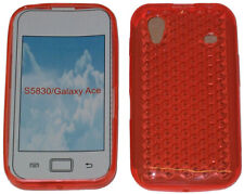 Pattern Gel Jelly Case Protector Cover For Samsung Galaxy Ace GT S5830 Orange UK