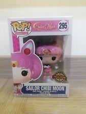 Sailor Chibi Moon  Funko Pop Vinyl 295 UK Very rare glitter special edition