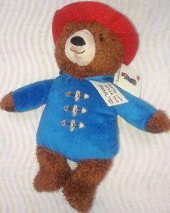 "Paddington Bear Stuffed Animal Plush Pal Teddy Bear 11"""