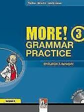 MORE! Grammar Practice 3, Ausgabe Deutschland und Schweiz, mit 1 CD-ROM von Jeff Stranks, Herbert Puchta und Peter Lewis-Jones (2012, Kunststoffeinband)