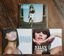 Nelly Furtado - Promo CDs x 3  (Say it right/In God's hands/Maneater)