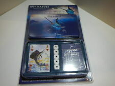 Guy Harvey Playing Cards and Dice Gift Set. 2 decks of cards and Dice in Tin