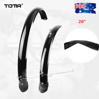 "Folding Bike Fender 20"" Full Length Front&Rear Mudguard set Bicycle Accessories"