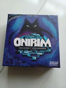 Onirim Card Game - Includes 7 Expansions (Z-Man Games, OOP)