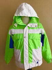 OBERMEYER Sport Recco Men's Winter Snow Ski Surfboard Hood Jacket Medium M Green