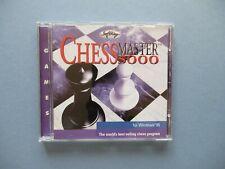Schachmeister 5000 PC CD-ROM (1999) Windows 95 cmt3844ab Jewel Case